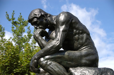 the thinker outdoors