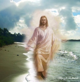 Jesus on water