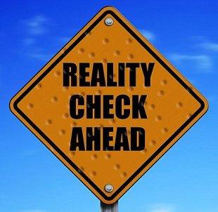 reality check sign