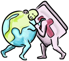 Bible-World wrestling-match